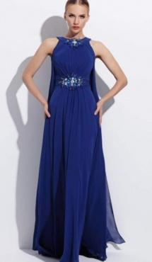 Abiye Kolvari blauw